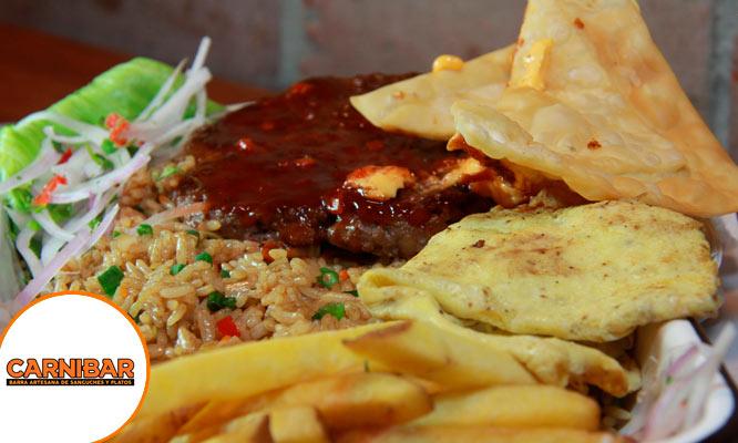Cualquier plato a la carta en Carnibar ¡Tu eliges!