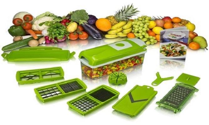 Cortador de verduras manual 8 en 1 - Cuponidadpe