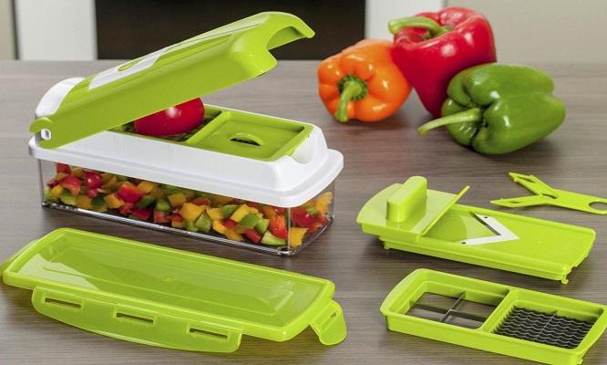 Únete a la nueva forma de cortar las verduras y frutas ¡Cortador de verduras 8 en 1!