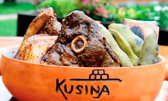 Kusina 2 platos de fondo a eleccion bebidas