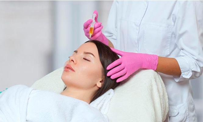 Plasma rico en plaquetas capilar Evita las caida del cabello!!!