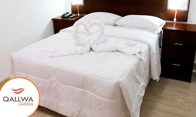 Casma 2D/1N para 2 en habitacion matrimonial desayunos
