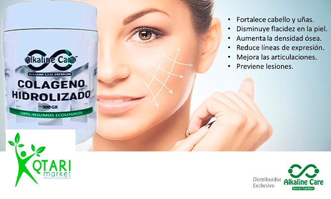 Colageno Hidrolizado con Vitamina C Zinc con Alkaline Care