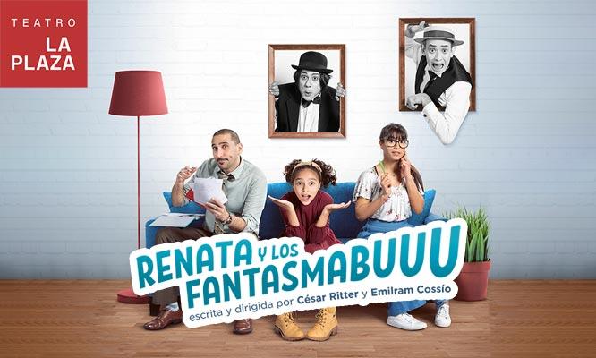 obr de teatro Renata y los Fantasmabuuuu
