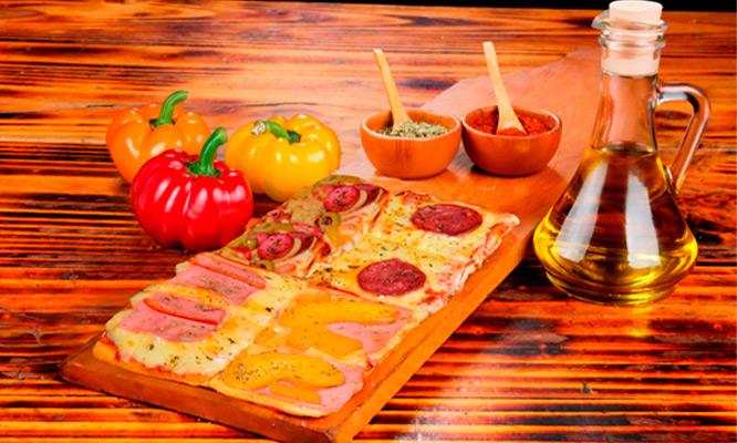 1/2 Mt Pizza a eleccion Bebida 1lt para 2 personas en Rustica de Jesus Maria