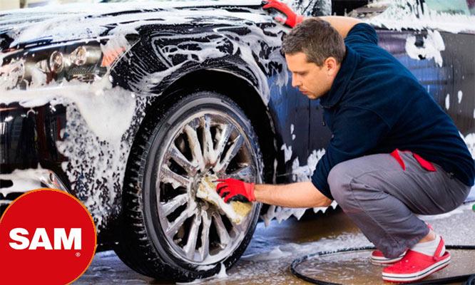 Lavado VIP para auto o camioneta desinfeccion de vehiculo en SAM Taller Automotriz