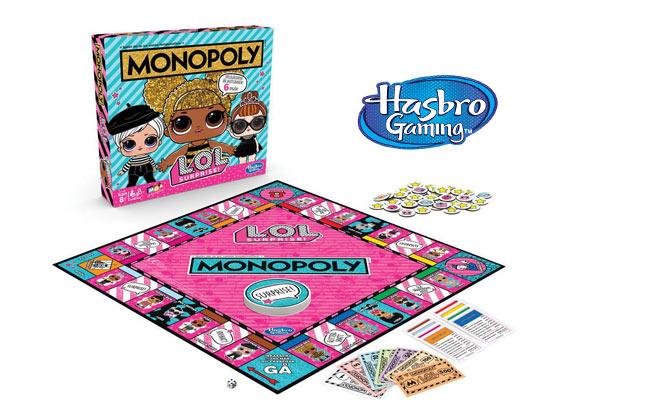 Juego Monopoly LOL SURPRISE Hasbro Games® delivery