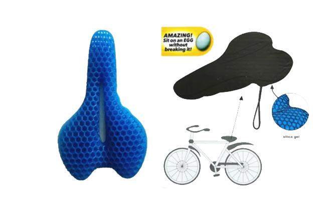 Asiento para bici Egg cushion Gel! ¡Se ajusta al asiento! ¡Incluye delivery en 24hrs!