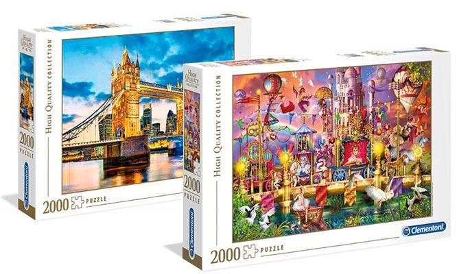 Rompecabezas Clementoni de 1500 2000 o 3000 piezas modelo a elegir delivery