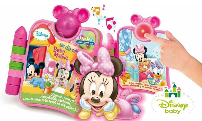 Disney baby Libro Minnie Mouse interactivo con luces y sonidos delivery