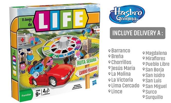 Juego LIFE de Hasbro Games® delivery