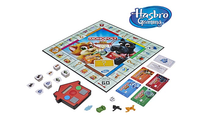 Juego Monopoly Junior - Banco electronico Hasbro Games® delivery