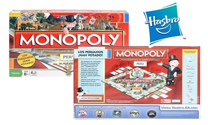 Juego Monopoly Edicion Peru Hasbro Games® delivery