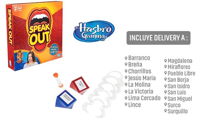 Juego Speak Out -¡Que dijo? de Hasbro Games® delivery