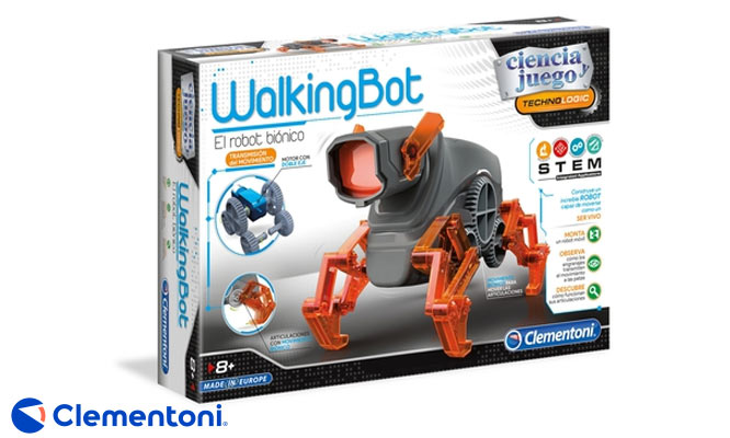Clementoni® WALKING ROBOT delivery