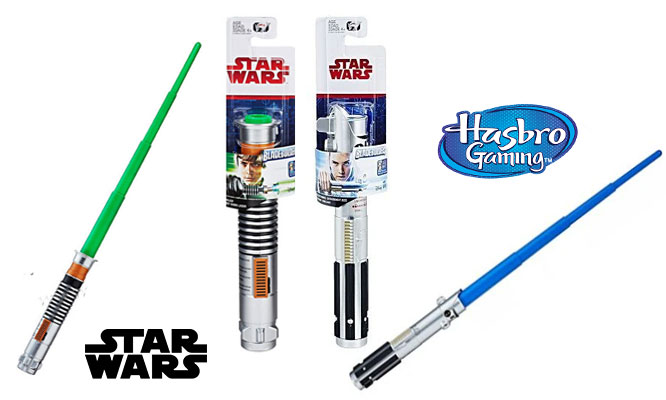 3x1 Bladebuilders Star Wars - Sables de Luz de Hasbro® delivery