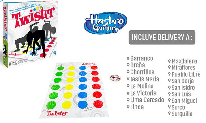 Juego Twister Hasbro Games® delivery