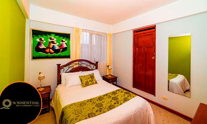 Cusco 1 2 3 noches en habitacion para 1 2 o 3 personas desayunos
