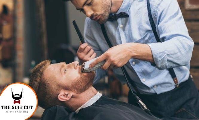 Corte de cabello lavado peinado barba y mas