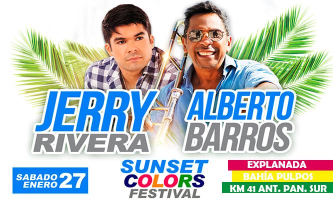Salsa con Clase 6 Jerry Rivera y Alberto Barros - preferencial VIP o Super VIP