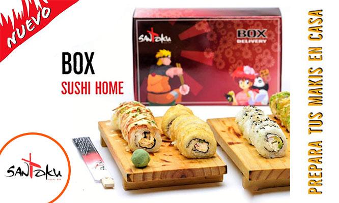 Box Sushi Home y prepara tus makis en casa