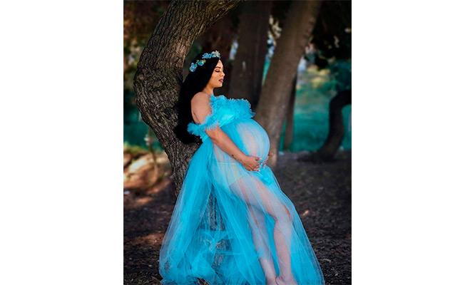 Sesion de fotos en exteriores para embarazadas