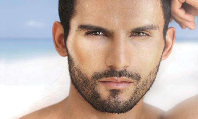 dise o de barba retoque de cejas y masaje capilar en