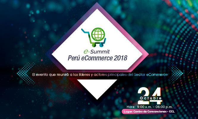 Entrada a e-Summit PERÚ ECOMMERCE 2018