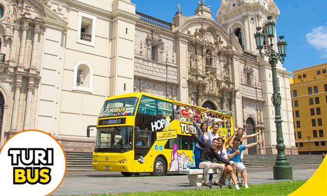 Tour Lima Iluminada y Fuentes de Lima con Turibus Salidas Julio / Agosto