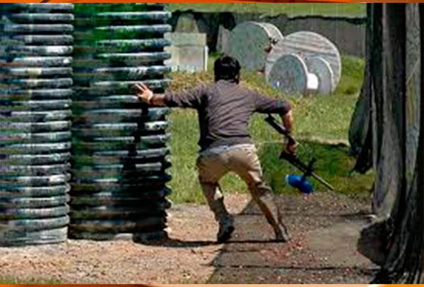 1 batalla paintball para 6 personas 30 balas por persona