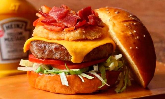 1 2 o 4 hamburguesas alitas gaseosa en Tom Davis