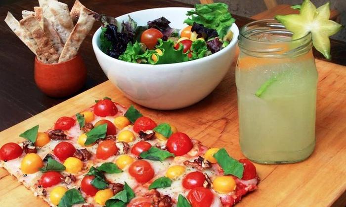 Veggie Pizza Descuento en pizza grande a eleccion bebida