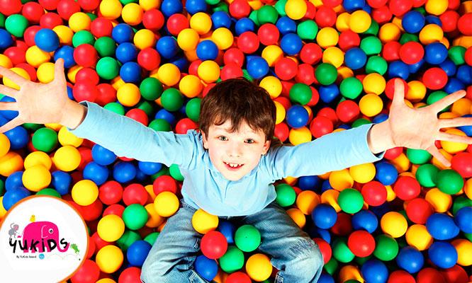 Yukids - 01 hora de juegos para niños - Cuponidadpe