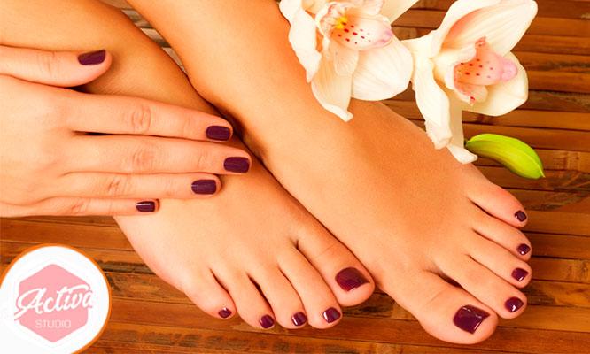 Pedicure completa hidromasaje manicure express depilacion de cejas