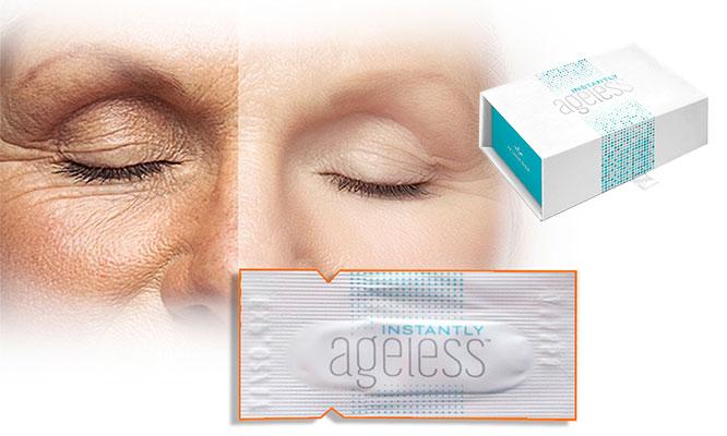 Surco 5 10 20 30 o 50 sachets crema Ageless para arrugas con efecto botox