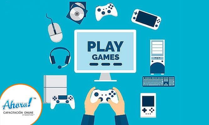 Curso online PLAY GAMER - creacion de videojuegos en 13 lecciones