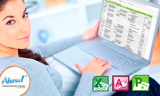 Curso online de Excel en 1 2 o 3 niveles