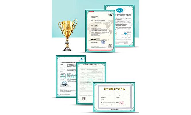 termometro infrarrojo Aicare certificado delivery incluido