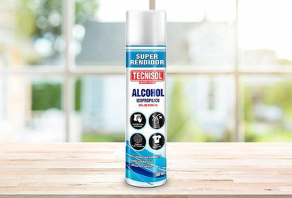 2 o 3 Alcohol en Spray de 500 ml segun elijas ¡Incluye Delivery!