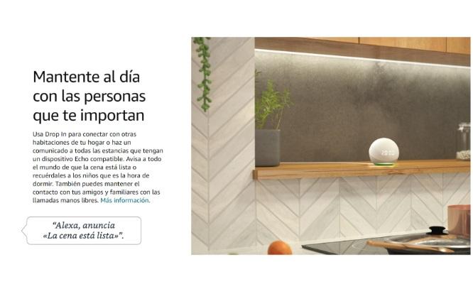 Alexa 4 generacion Amazon Foco Smart inteligente de regalo
