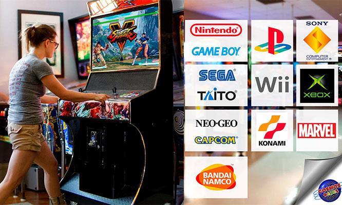 Delivery Alquiler de maquina Arcade con 900 juegos y mas