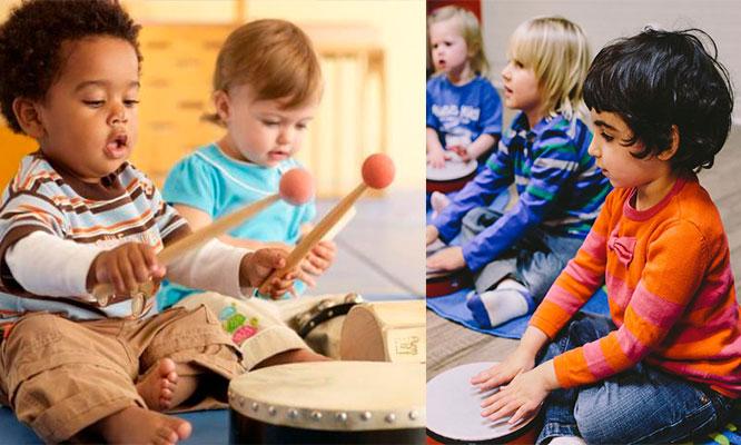 Clases de musica para tu bebe