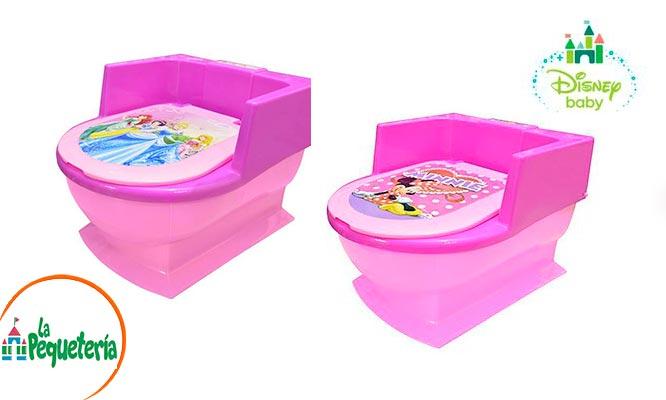 Baño entrenador para niños Disney Baby a elegir