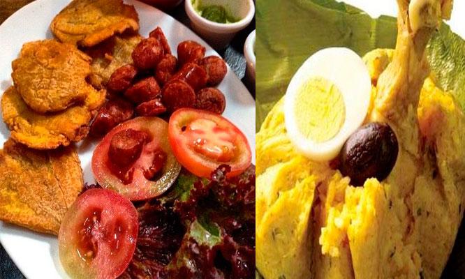 bandeja anaconda para 2 que incluye Patacones chorizo 2 mini juanes ensalada