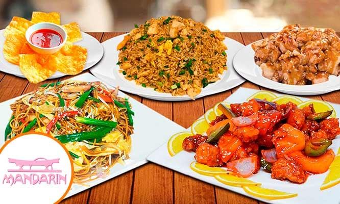 ¡Deliciosos Banquetes Familiares del Restaurant Internacional Mandarin de lunes a domingo!