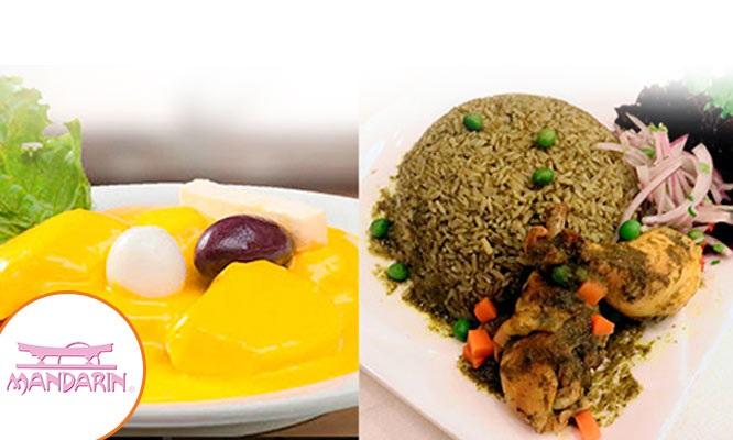 ¡Banquete Familiar del Restaurant Internacional Mandarin de lunes a sabado!