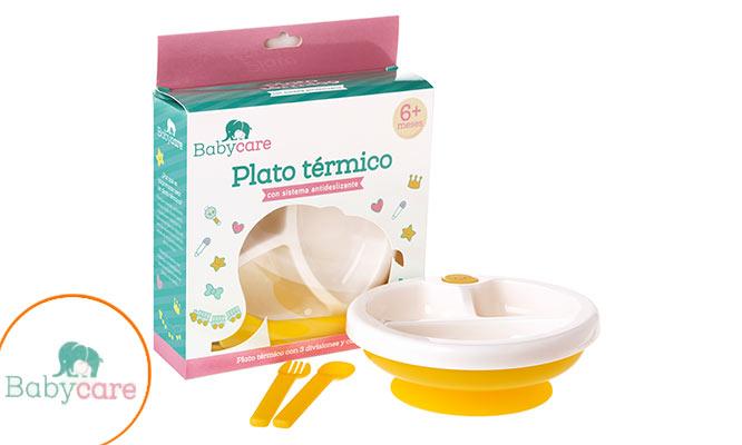 Plato termico para bebe ¡Incluye delivery!