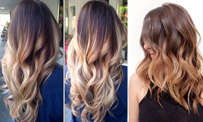 Mechas balayage o californianas o light down y mas