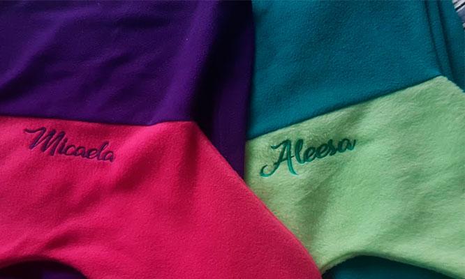 Manta sirena para mama e Hija opcion a bordado personalizado ¡Incluye delivery!