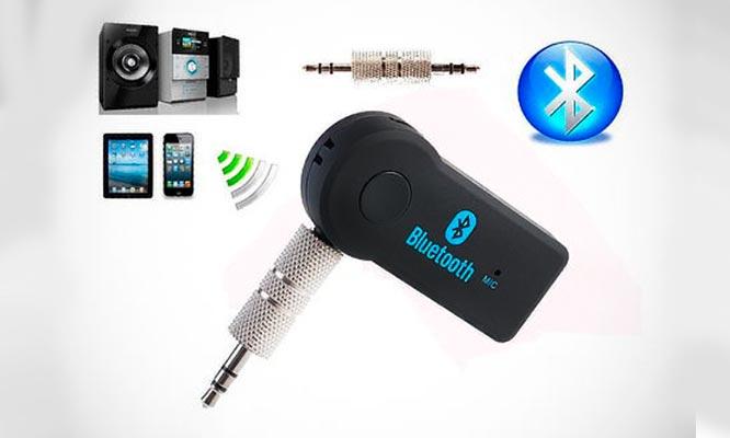 Convertidor a bluetooth con microfono
